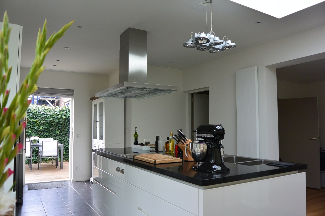 Keuken Uitbouw Design : Complete aanbouw uitbouw met keuken bouwbedrijf goedbloed